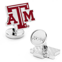 Texas A&M Aggies Palladium Cufflinks