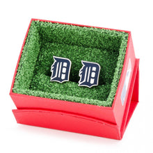 Detroit Tigers Palladium Edition Cufflinks
