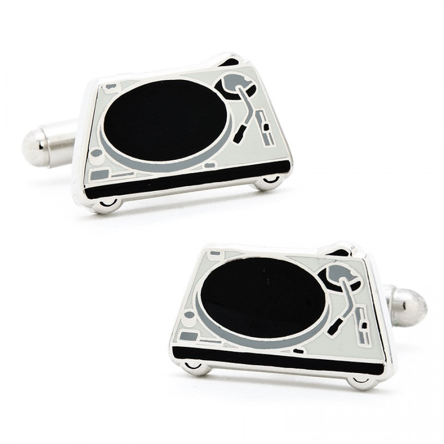 DJ Turntable Cufflinks