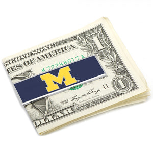 University of Michigan Wolverines Money Clip