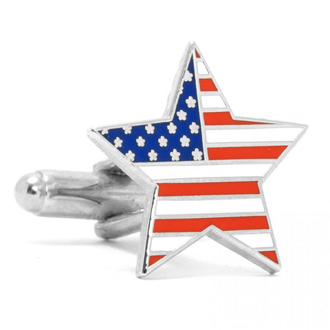 Stainless Steel Bipartisan Cufflinks