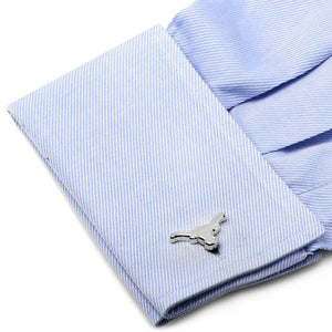 University of Texas Longhorns Silver Edition Cufflinks