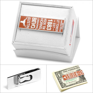 University of Texas Longhorn Pride Money Clip