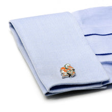 University of Miami Vintage Hurricanes Cufflinks