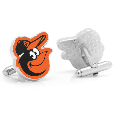 Baltimore Orioles Cufflinks and Tie Bar Gift Set