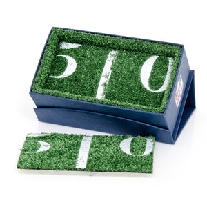 New York Giants Cufflinks and Cushion Money Clip Gift Set