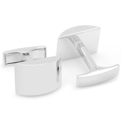 Curved Engravable Cufflinks