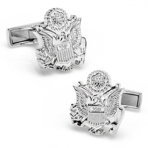 Black Enamel Frog Cufflinks
