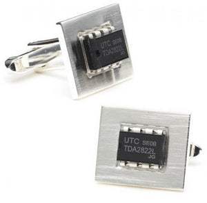 Integrated Circuit Cufflinks