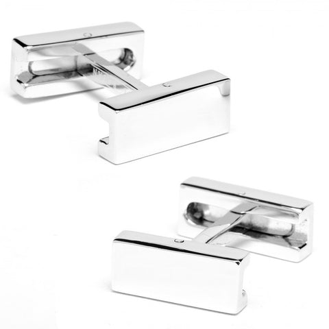 Engravable Flip Bar Cufflinks