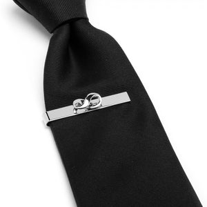 Infinity Symbol Cufflinks and Tie Bar Gift Set