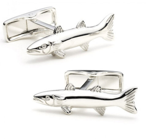 Sterling Bear Cufflinks