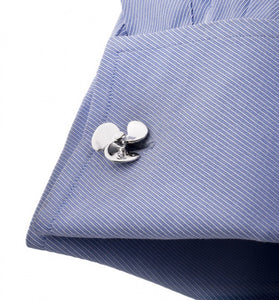 Sterling Propeller Cufflinks