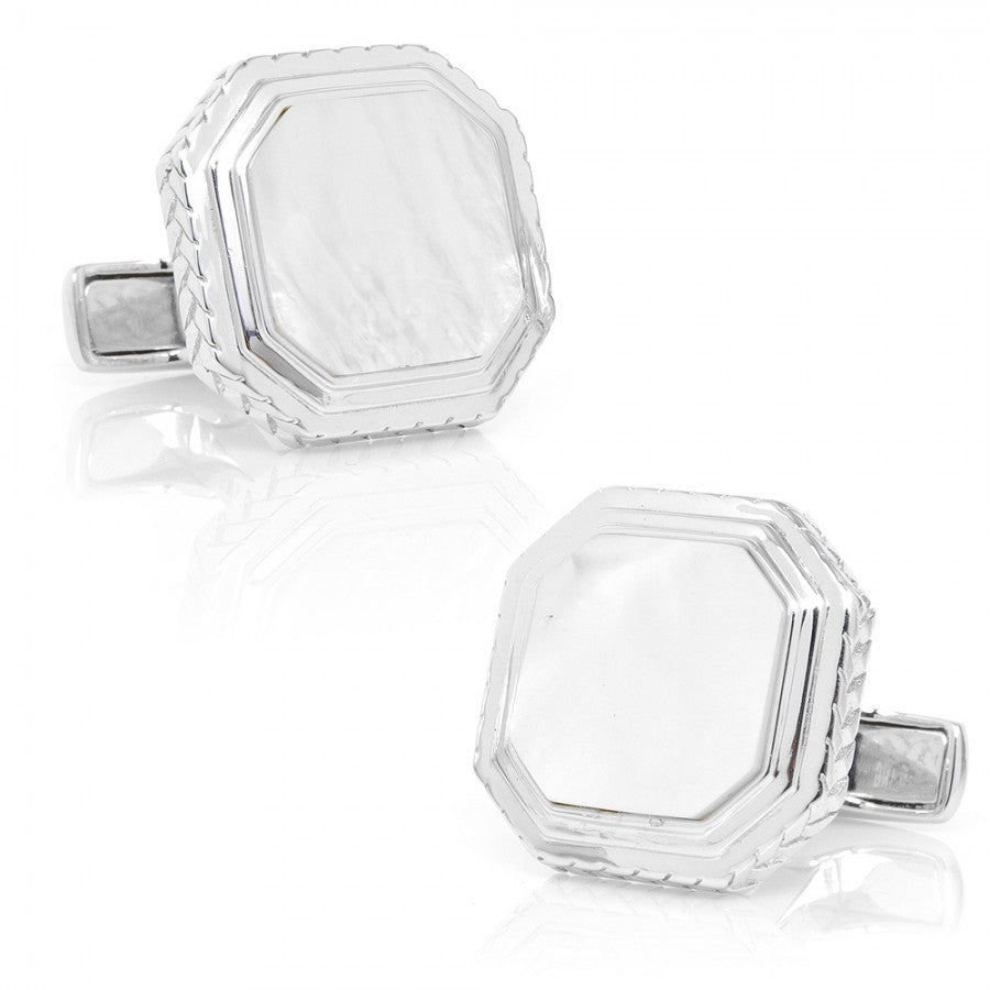 Mother of Pearl Opus Cufflinks