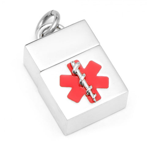 Red 8GB USB Flash Drive Cufflinks