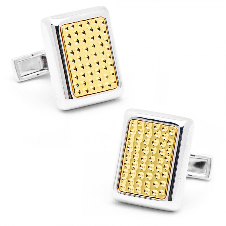 Two-Tone JFK Presidential Cufflinks