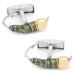 Sterling Silver Fly Fishing Lure Cufflinks