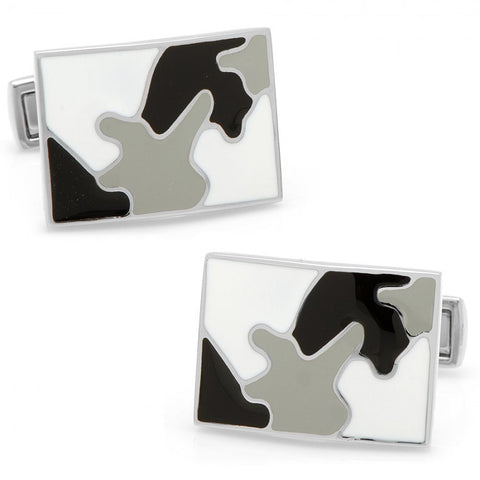 Palladium City Camo Cufflinks