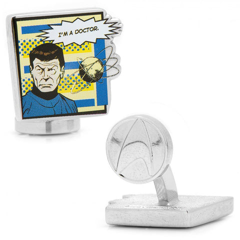 Star Trek Cufflinks Tie Bar Gift Set