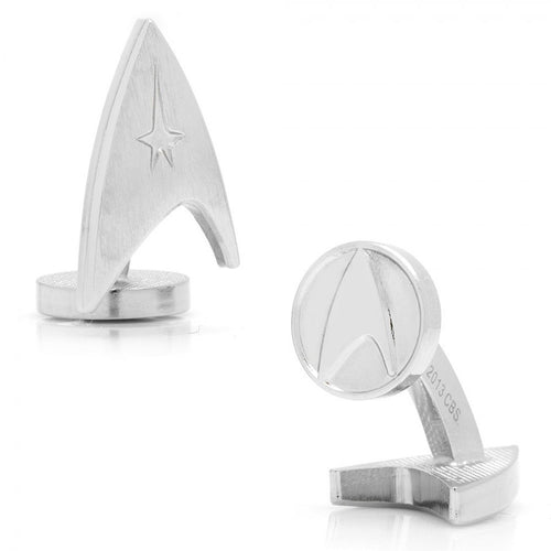Silver Delta Shield Cufflinks