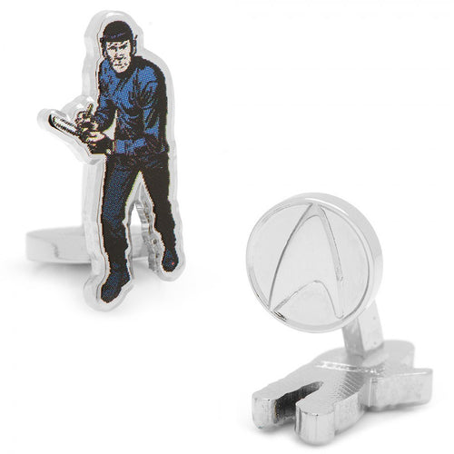 Spock Action Cufflinks