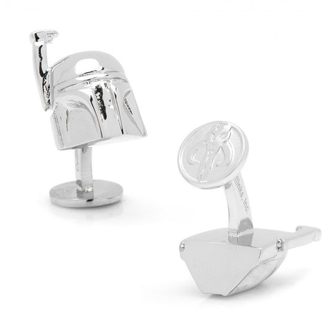 Sterling Silver and Enamel Guitar Amp Cufflinks