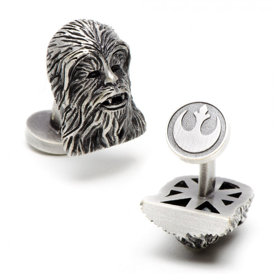 3D Palladium Chewbacca Cufflinks