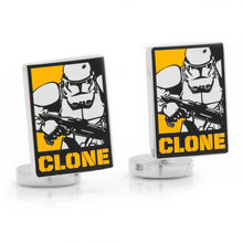 Clone Trooper Pop Art Poster Cufflinks