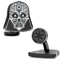 Darth Vader Sugar Skull Cufflinks
