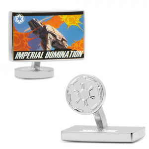 Imperial Domination Propaganda Poster Cufflinks