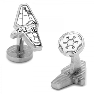 "7/8"" x 1/2"" Imperial Shuttle Star Wars Cufflinks"