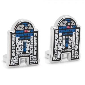 R2D2 Typography Cufflinks