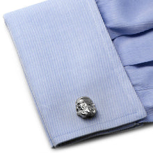 3D Storm Trooper Head Cufflinks