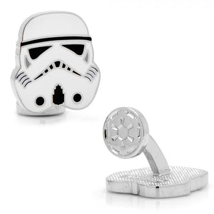 "Officially Licensed 7/8"" x 7/8"" Stormtrooper Cufflinks"