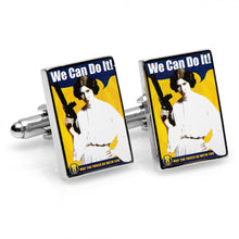 We Can Do It Propaganda Poster Cufflinks