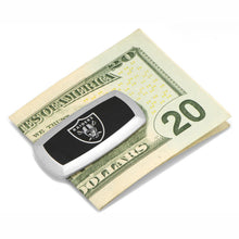Oakland Raiders Cufflinks and Cushion Money Clip Gift Set