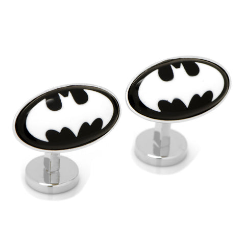 Batman Etched Onyx Cufflinks