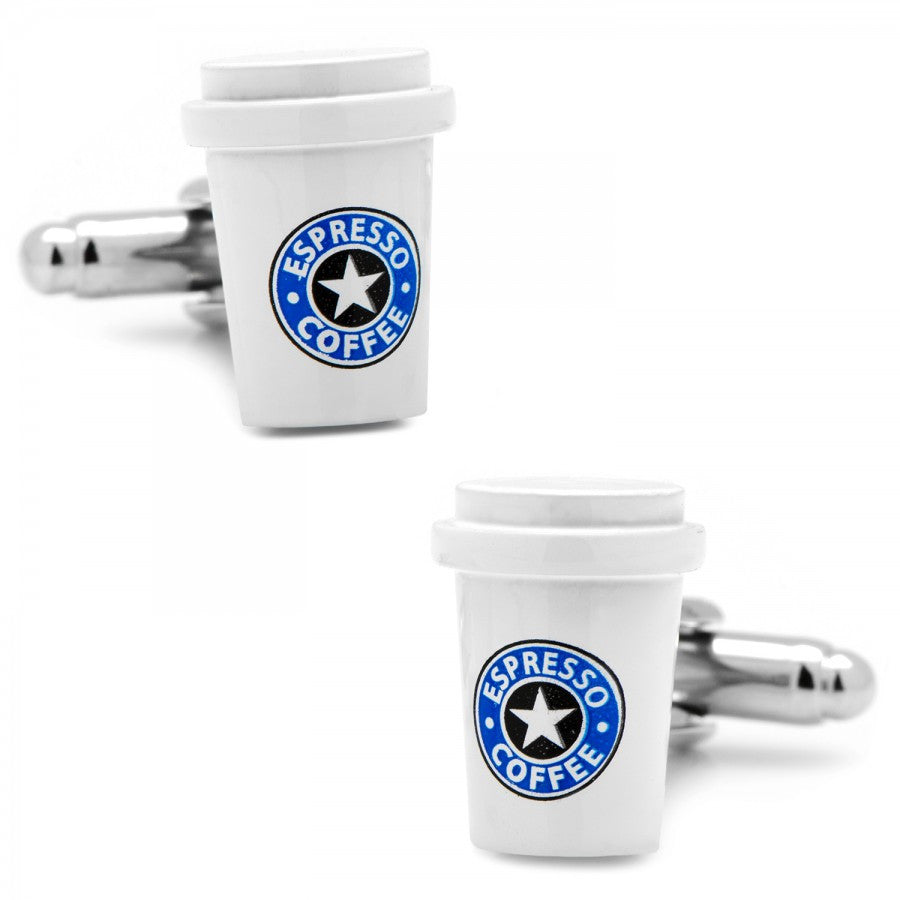 Coffee Cup Cufflinks