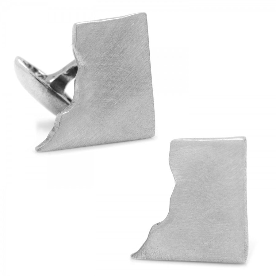 Pewter District of Columbia Cufflinks