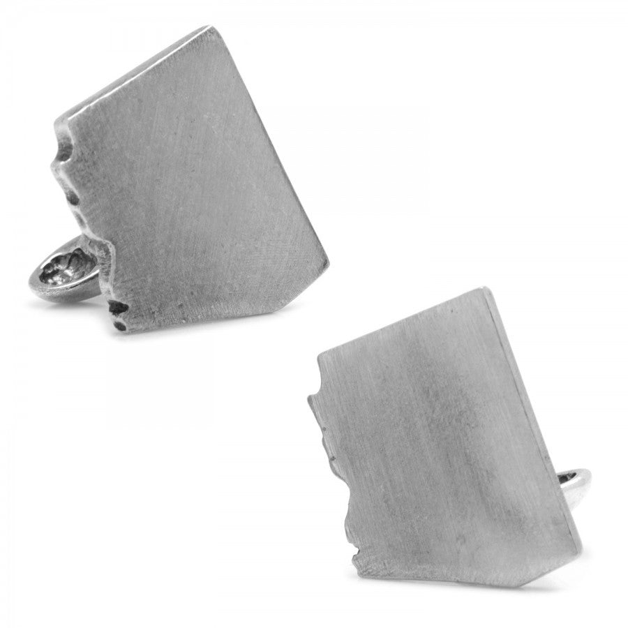 Pewter Arizona Cufflinks