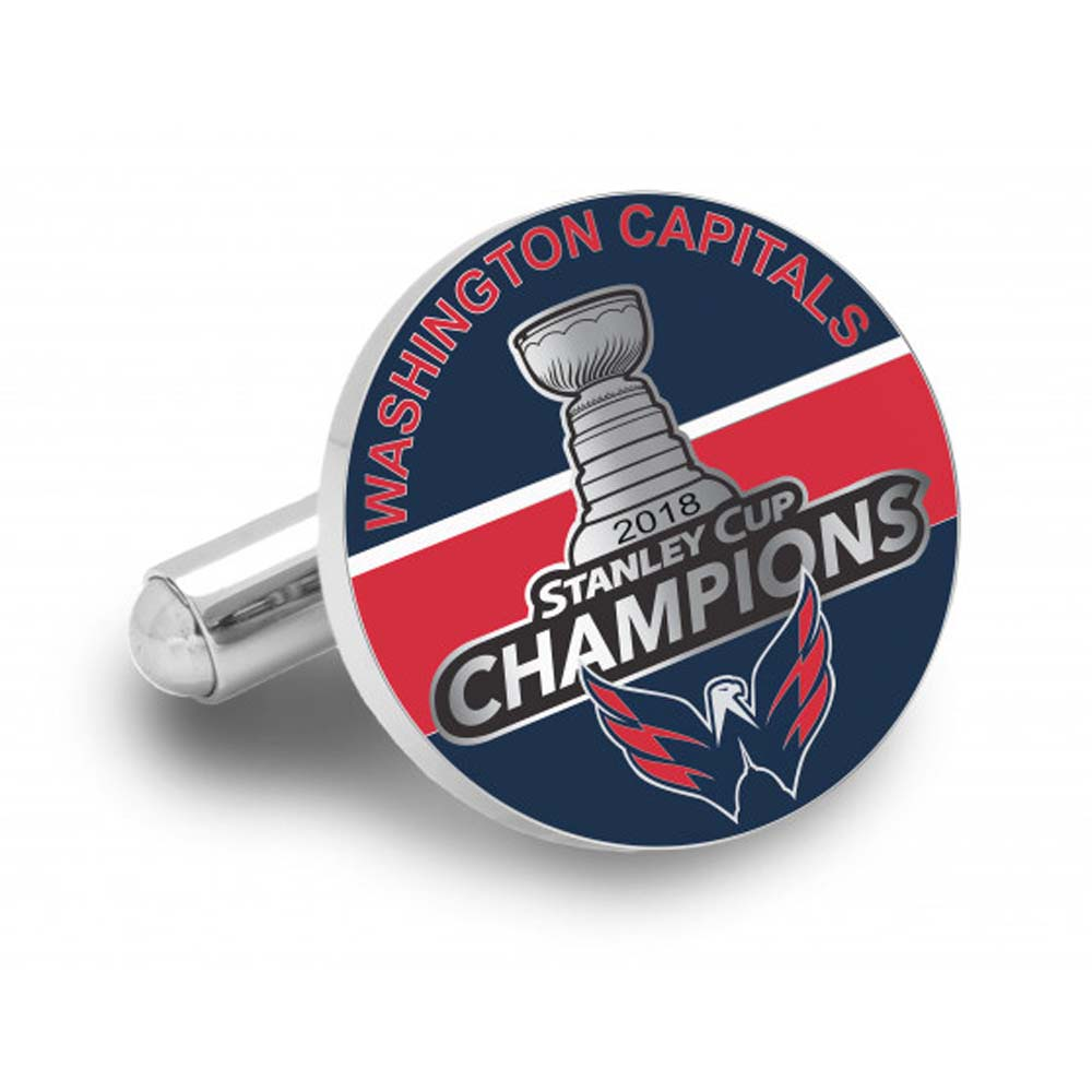 2018 Washington Capitals Stanley Cup Champions Cufflinks