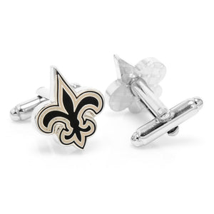 New Orleans Saints Cufflinks and Cushion Money Clip Gift Set
