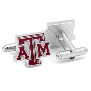 Texas A&M Aggies Cufflinks and Cushion Money Clip Gift Set