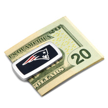 New England Patriots Cufflinks and Cushion Money Clip Set