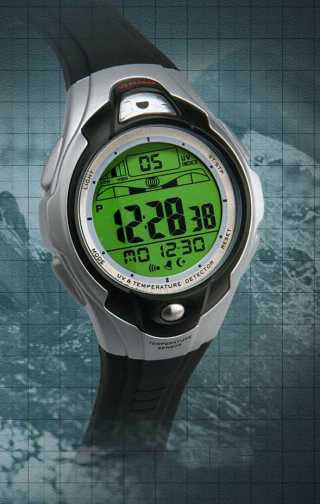 Rodell-7 Sensomatic™ UV Index Indicator Watch