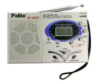 Palito FM/MW/SW1-7 9 BAND DIGITAL RECEIVER