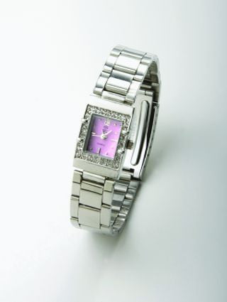 Princessa Faux Diamond Watch