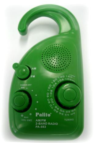 Palito™ Shower Radio
