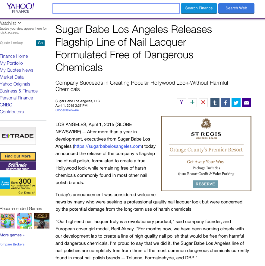 Sugarbabe website