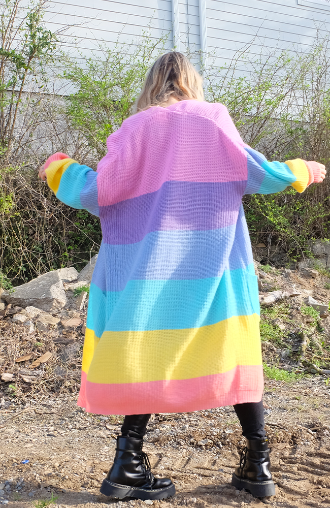 Uncoded Era - True Colors Cardigan, back